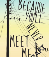 Review: Because You'll Never Meet Me by Leah Thomas