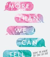 Review: More Than We Can Tell by Brigid Kemmerer
